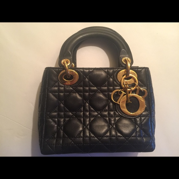 f905823527 Dior Bags | Authentic Christian Mini Lady Messenger Bag | Poshmark